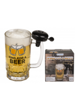 beer glass with bell