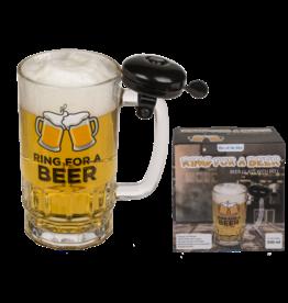 bierglas met bel