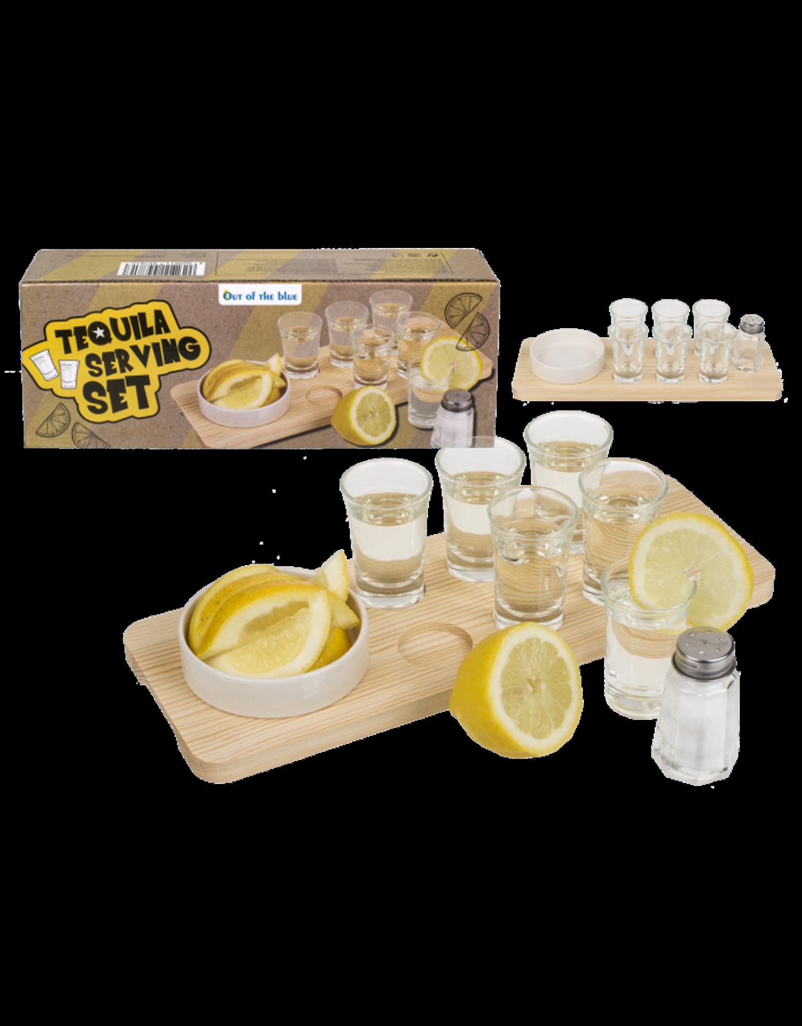 tequila serving set