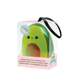 detangling hairbrush - avocado