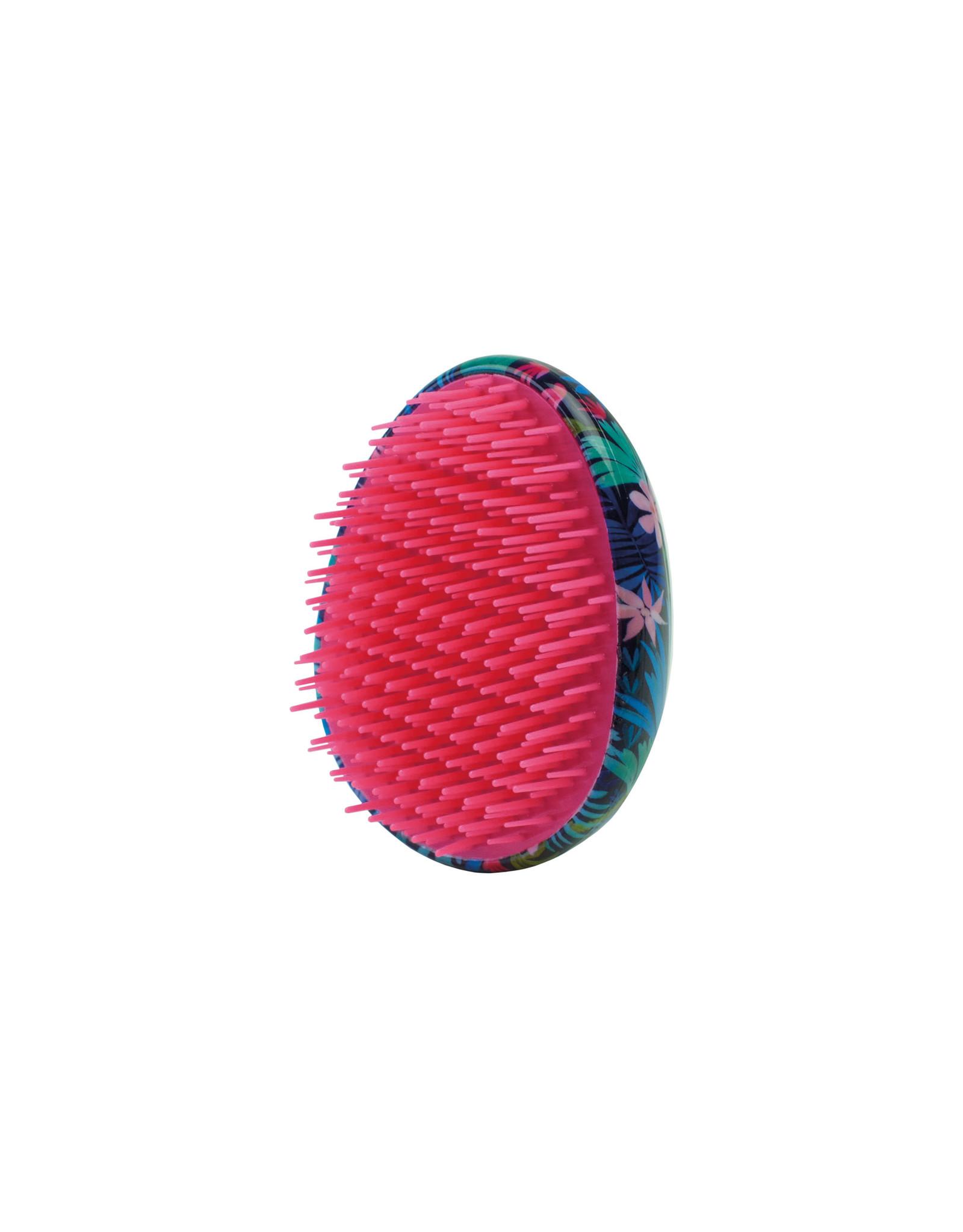 detangling hairbrush - flora