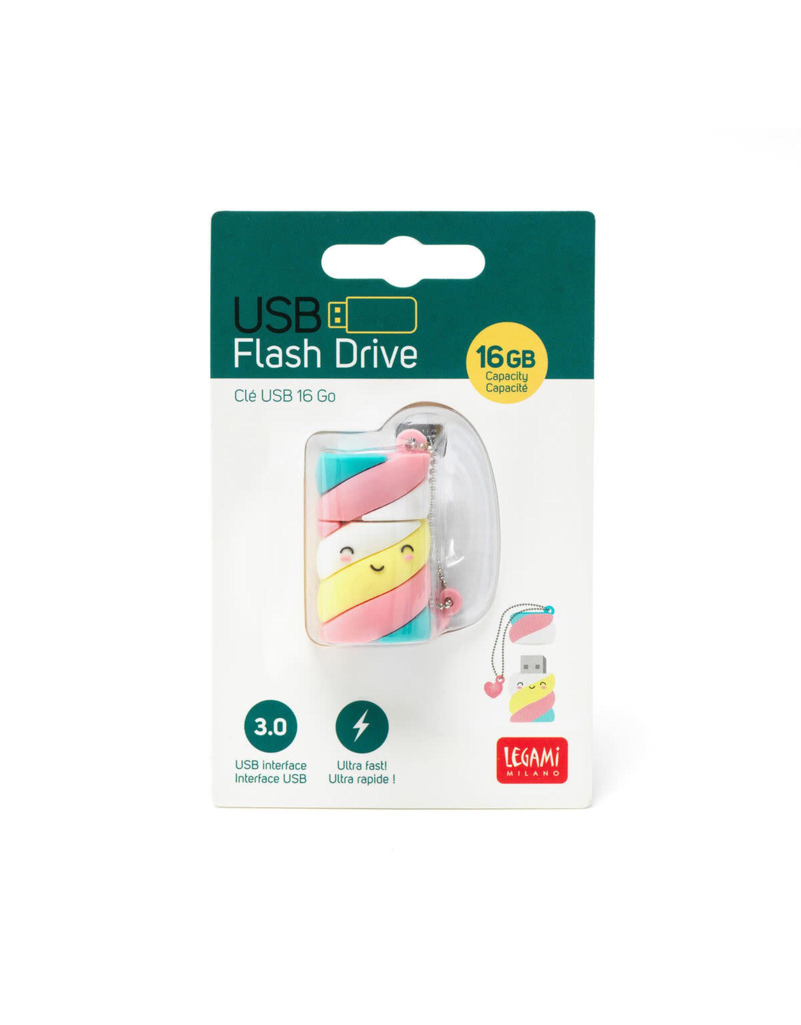 USB flash drive - marshmallow