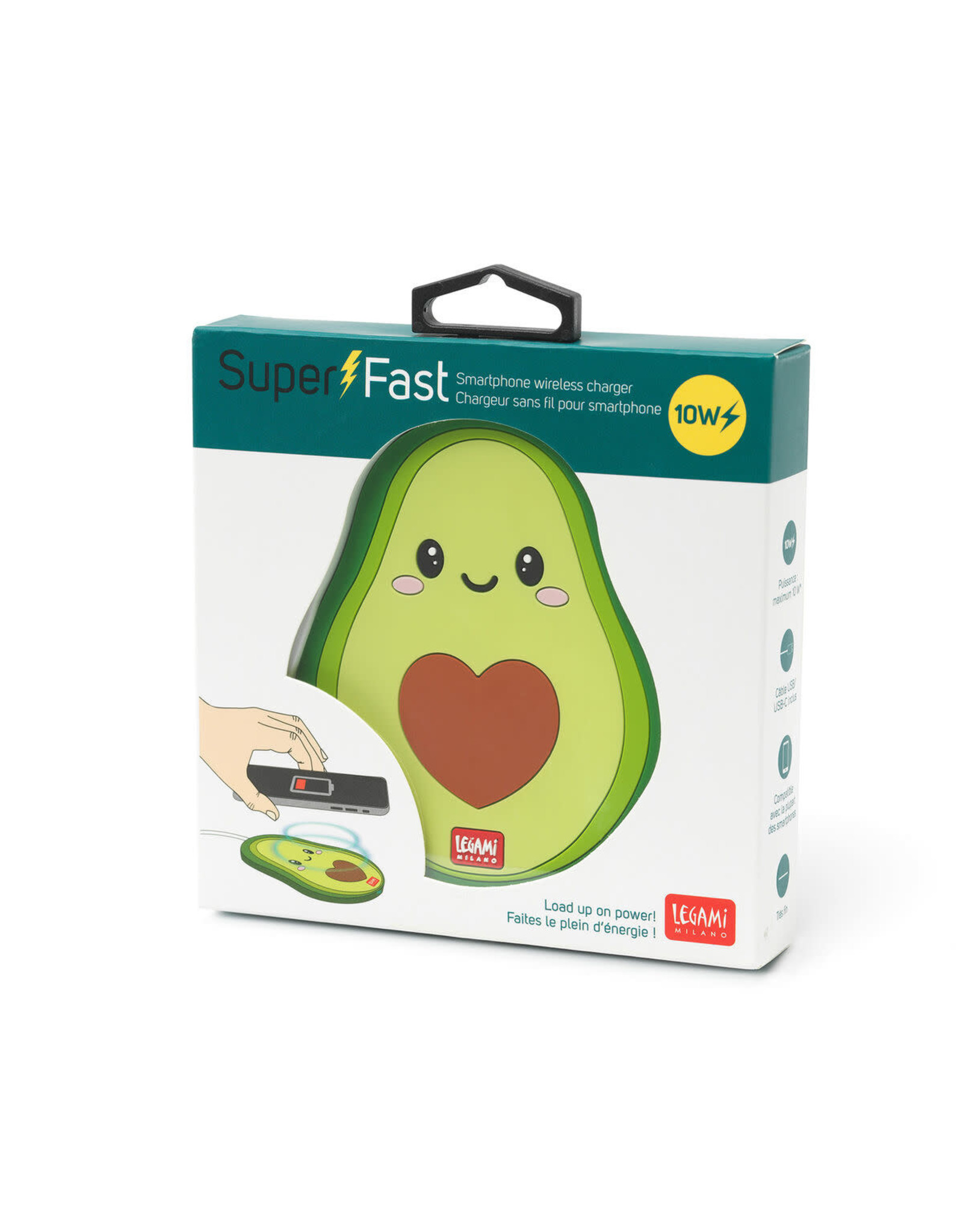 wireless charger - avocado