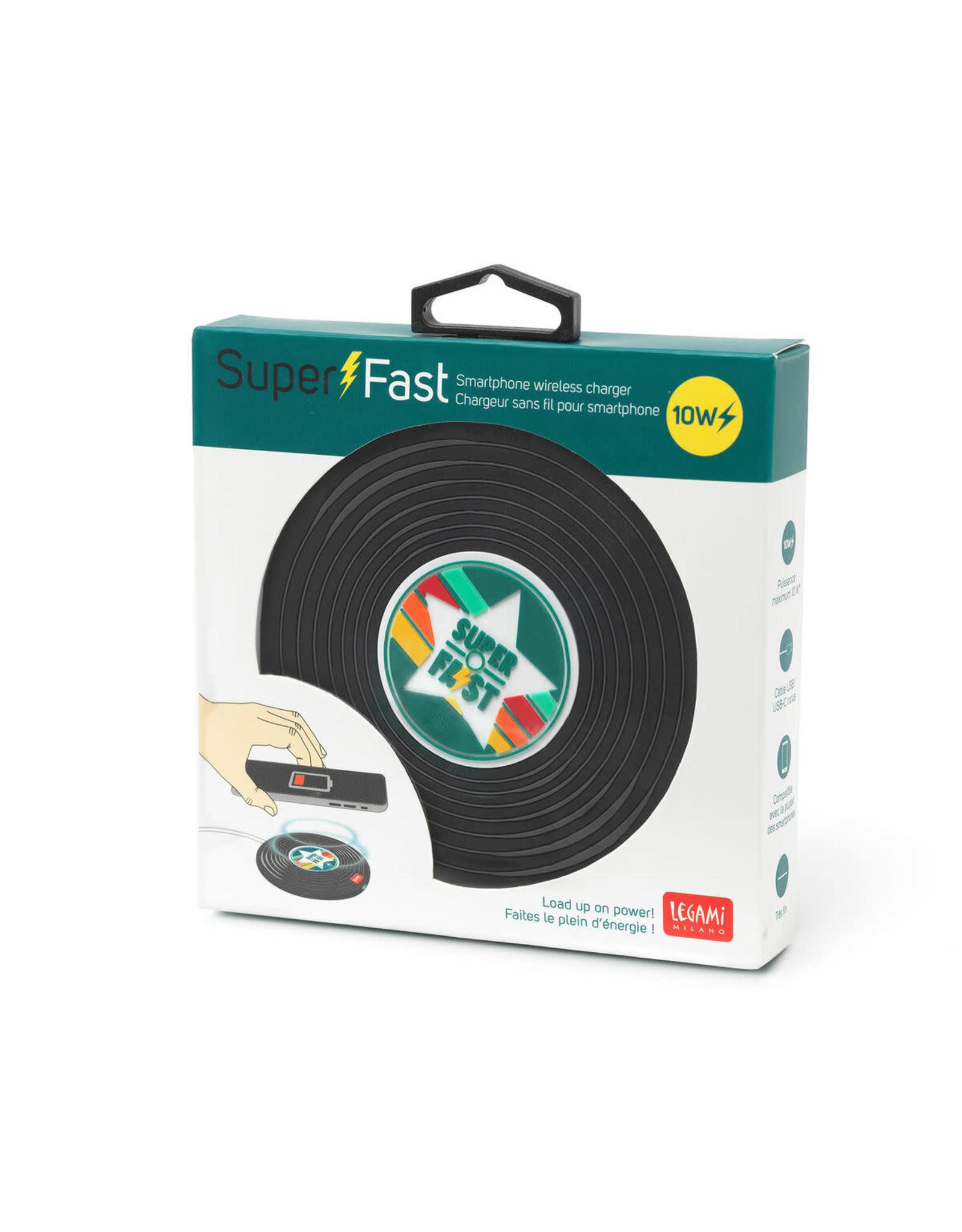 wireless charger - vinyl