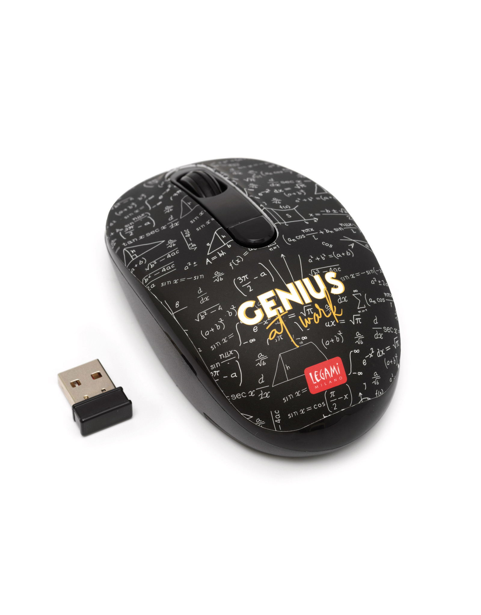 wireless mouse with math design
