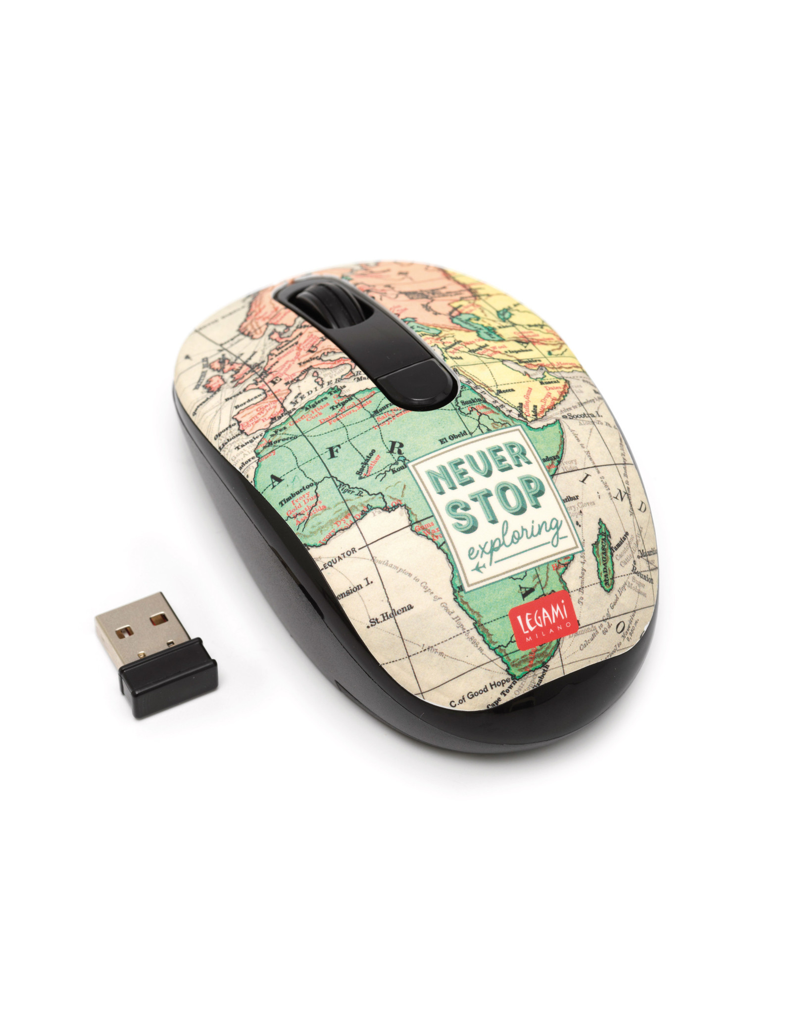 wireless mouse with travel design