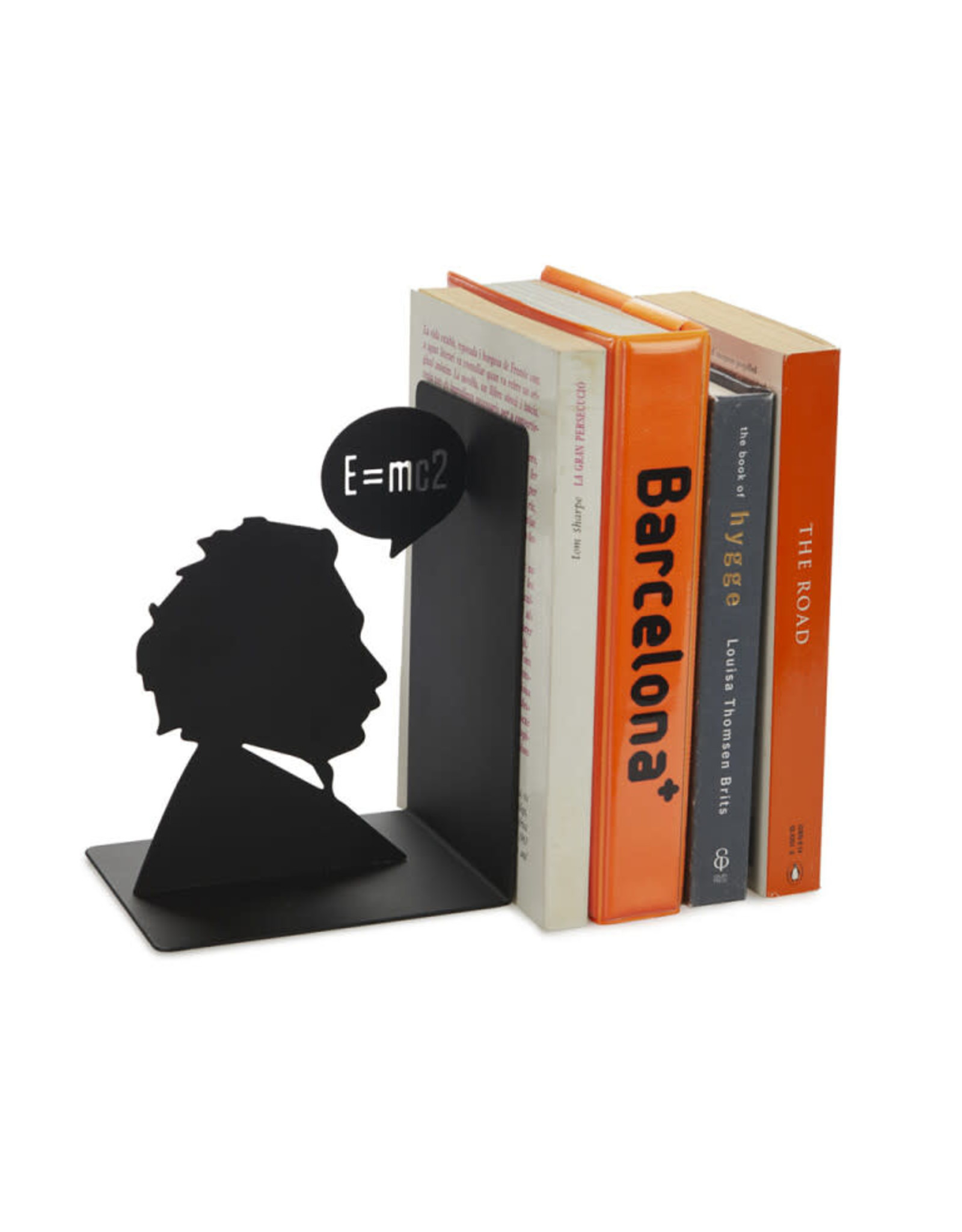 bookend in the shape of Einstein