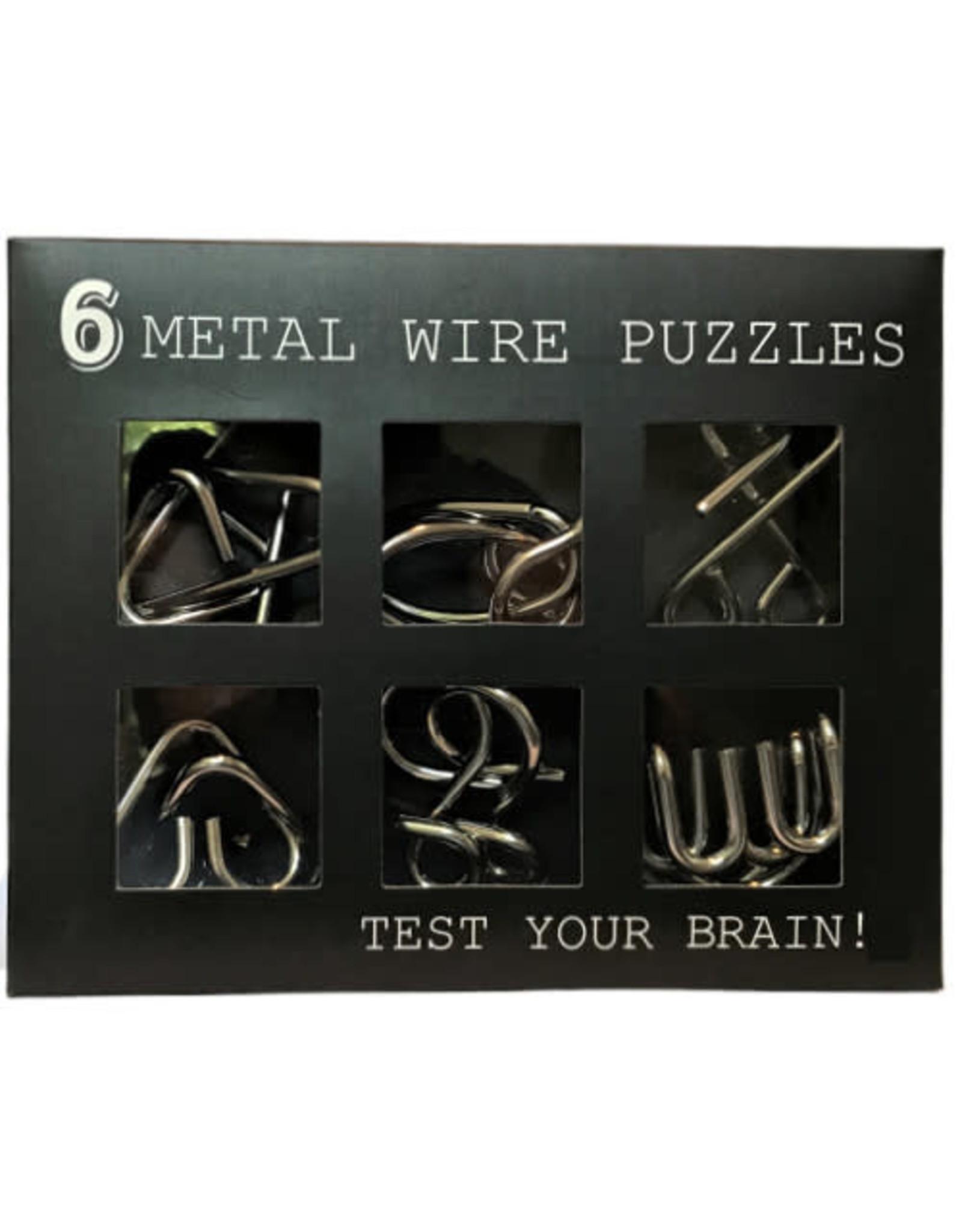 puzzle - metal brain trainer (6pcs)