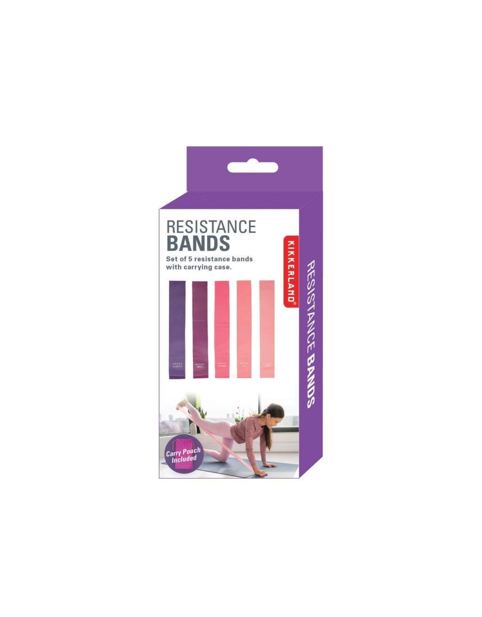Kikkerland resistance bands - set of 5