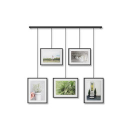 photo frame - exhibit (black)