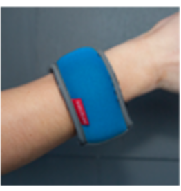 wrist weights - one pound (448 gr)