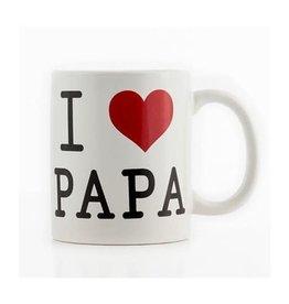 Out Of The Blue mug - i love papa