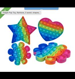 fidget pop toy - funny shapes