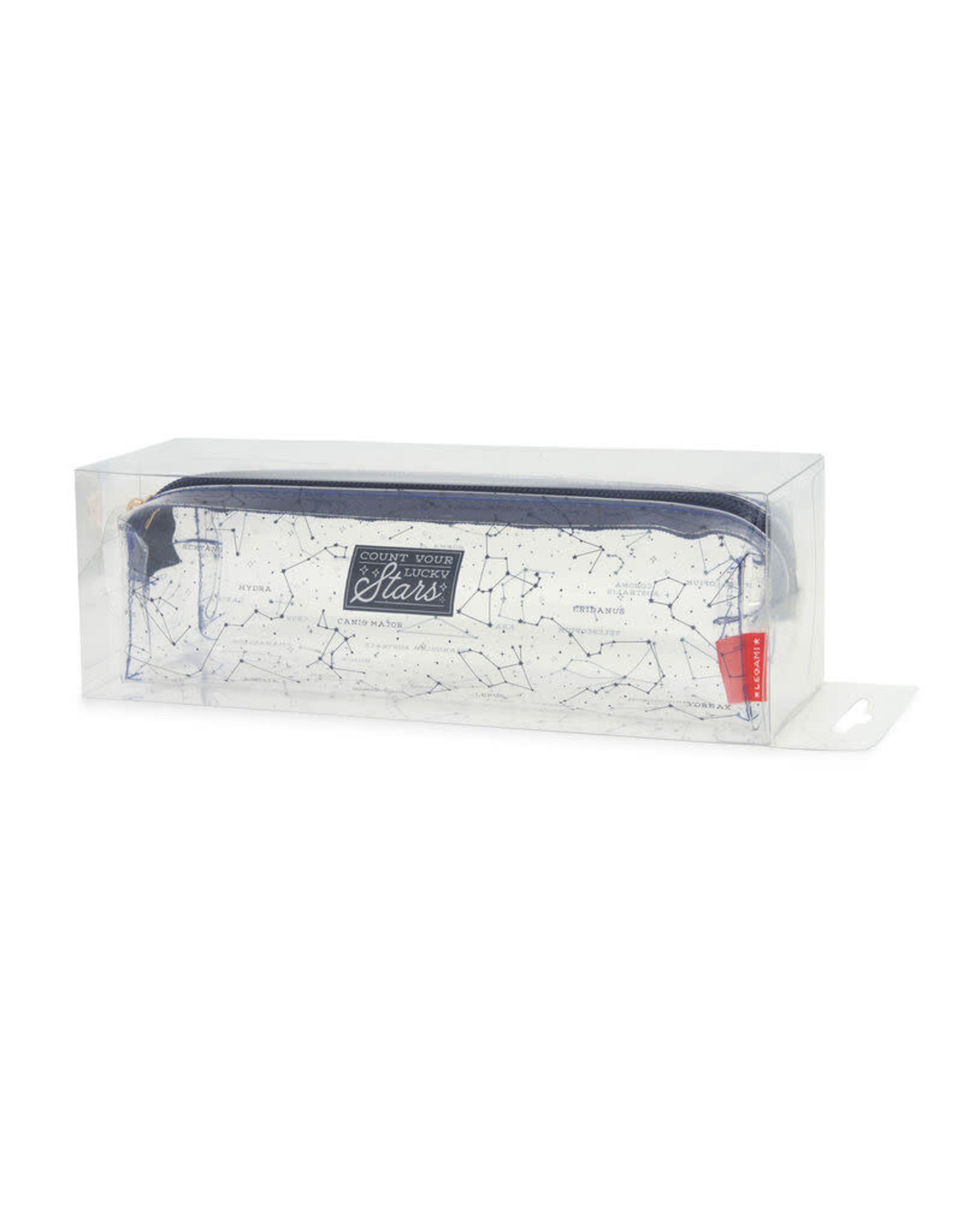 Legami pencil case with star design