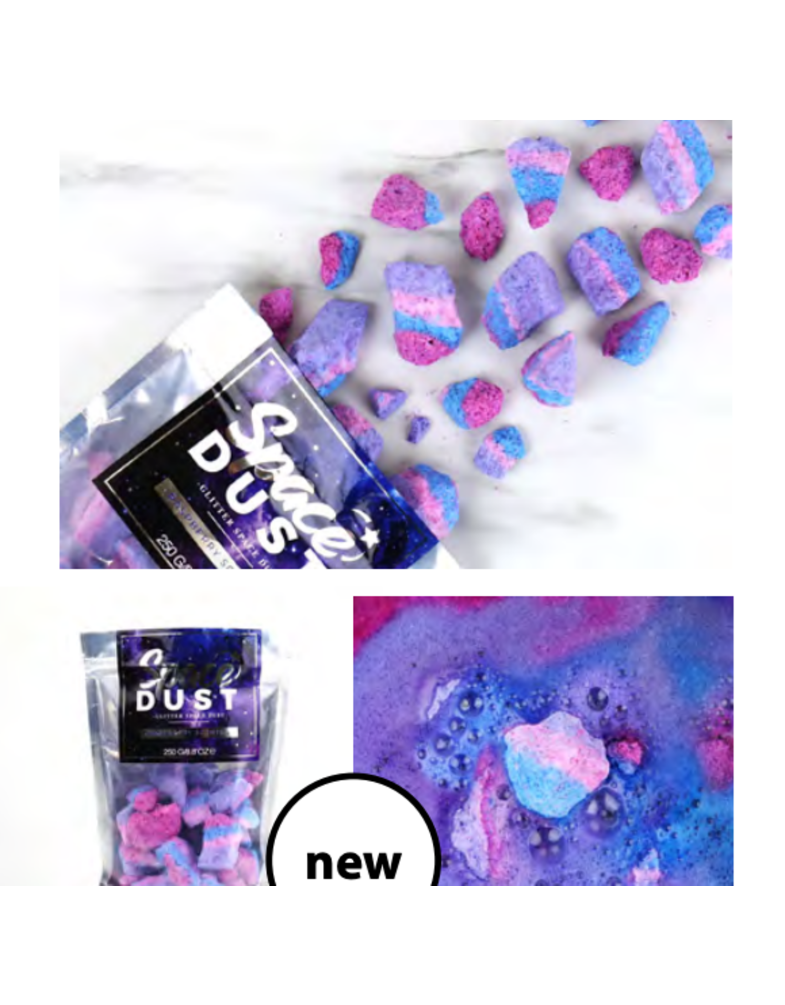 Gift Republic raspberry scented bath bombs
