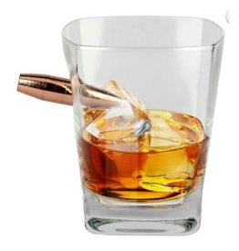 Barbuzzo whisky glass - last man standing