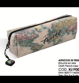 pencil case - let's travel