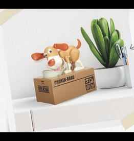 moneybox - dog in a box