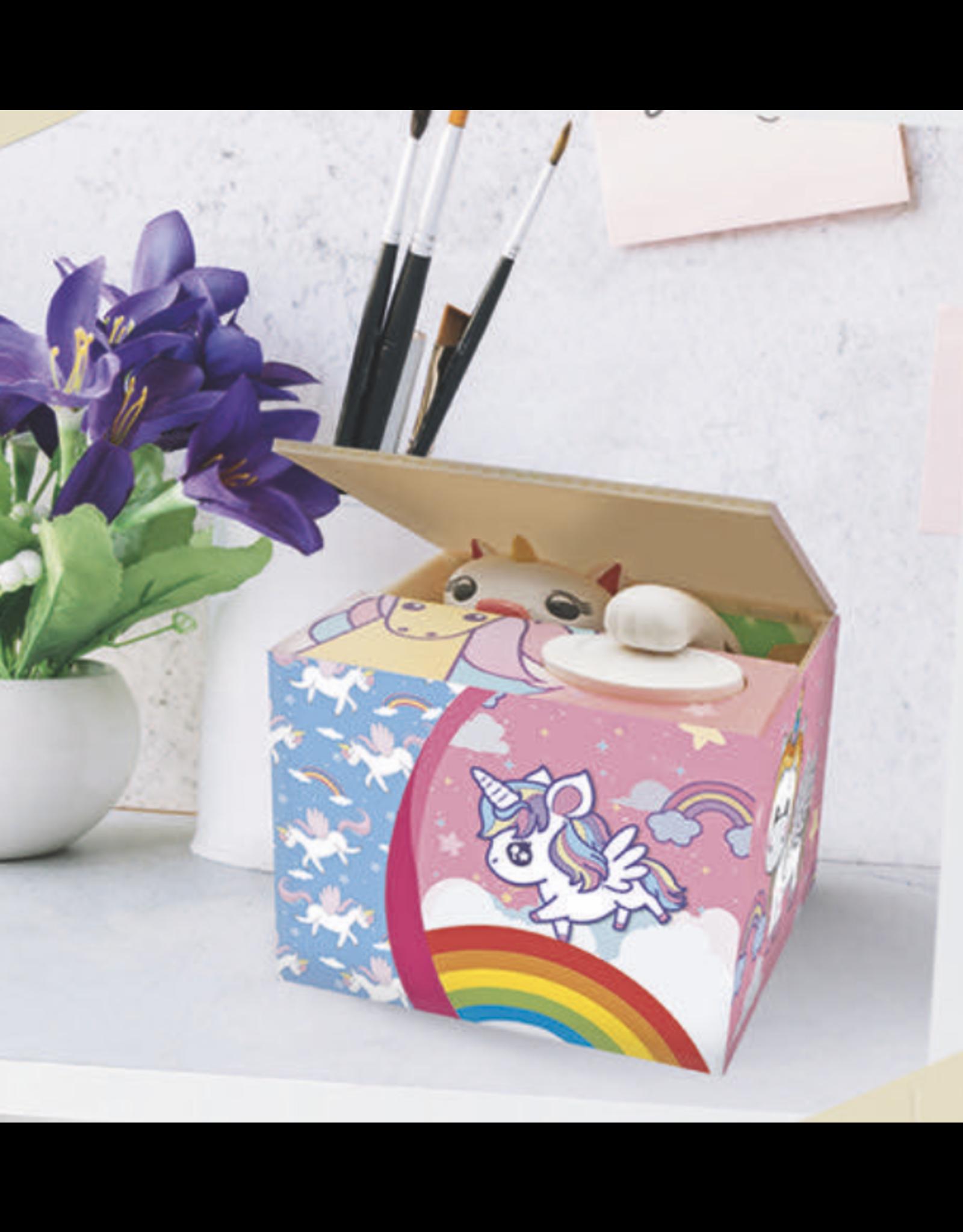 moneybox - unicorn in a box