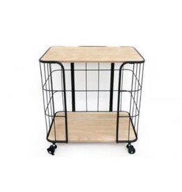 side table - wheelie