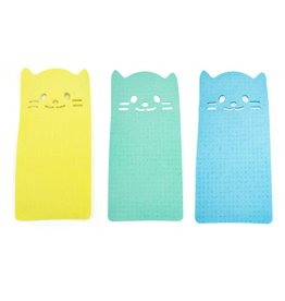 reusable cleaning cloth - cat