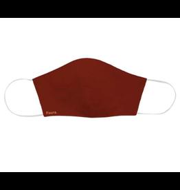 Fisura face mask - burgundy red