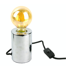lampvoet - zilver