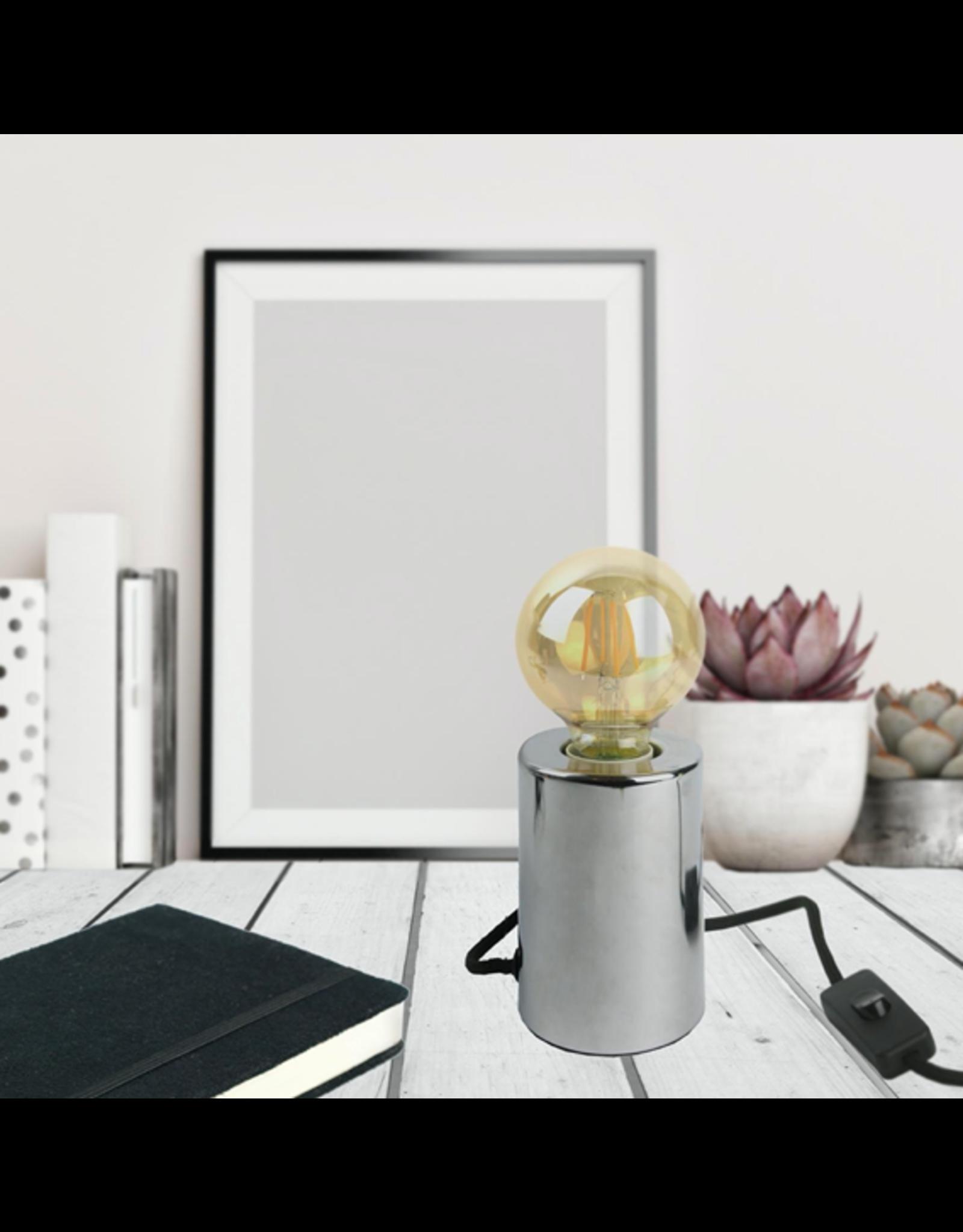 lamp foot - silver