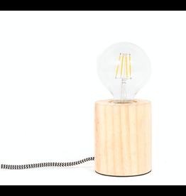 lamp foot - wood