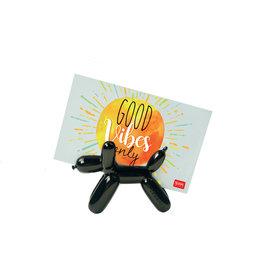 lucky - magnetische foto houder - ballonnen hond