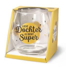 wine/water glass - dochter