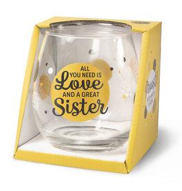 wijn-/waterglas - sister