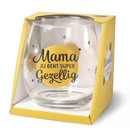 wine/water glass - mama