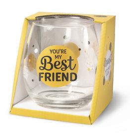wijn-/waterglas - best friend