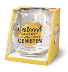 wine/water glass - geslaagd