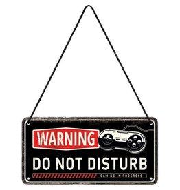 hanging sign - warning