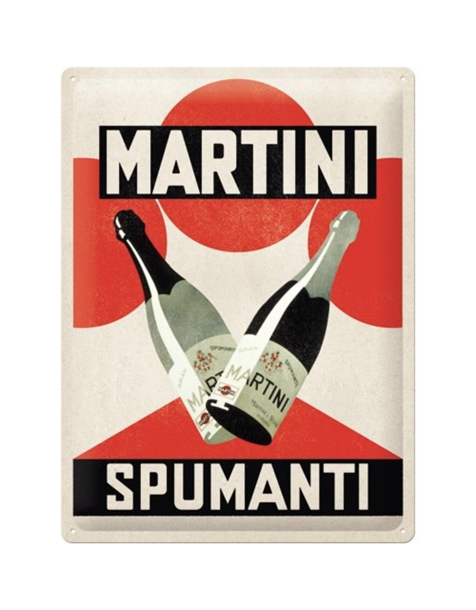 Nostalgic Art metal sign - 30x40 - martini spumanti