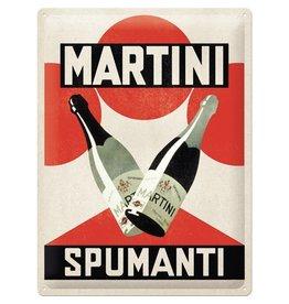 Nostalgic Art sign - 30x40 - martini spumanti