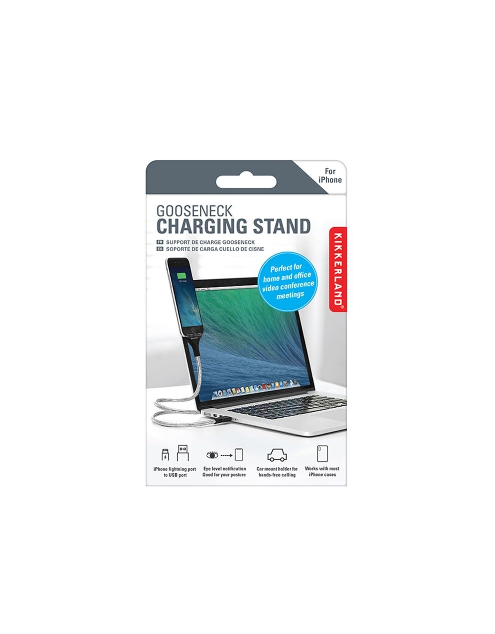 charging stand - gooseneck