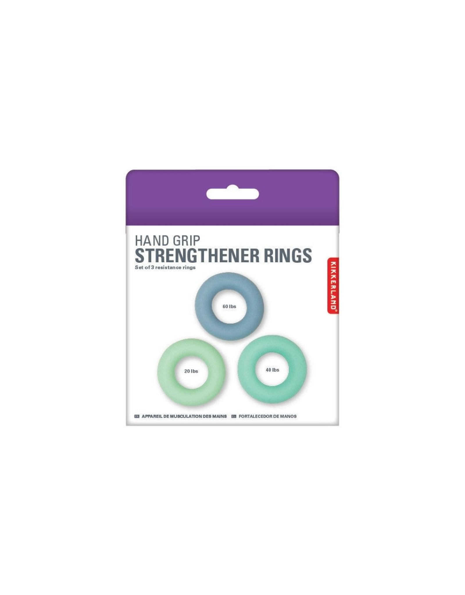 Kikkerland set of 3 hand strengtheners