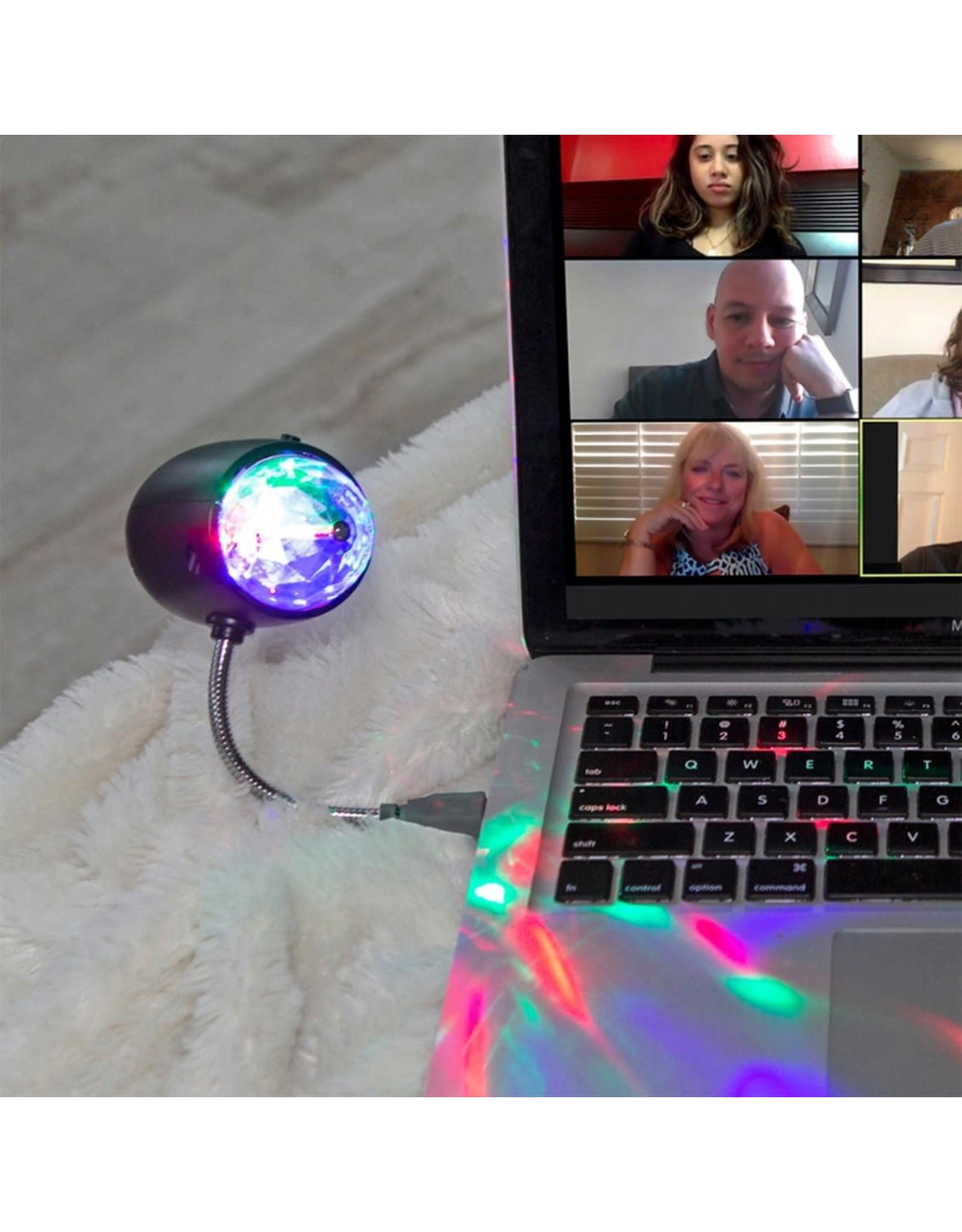 Disco light with USB