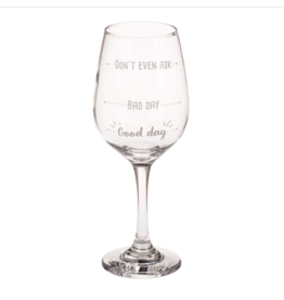 wine glass - good day