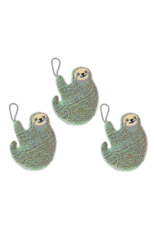 sponges in the shape of a sloth (set of 3)
