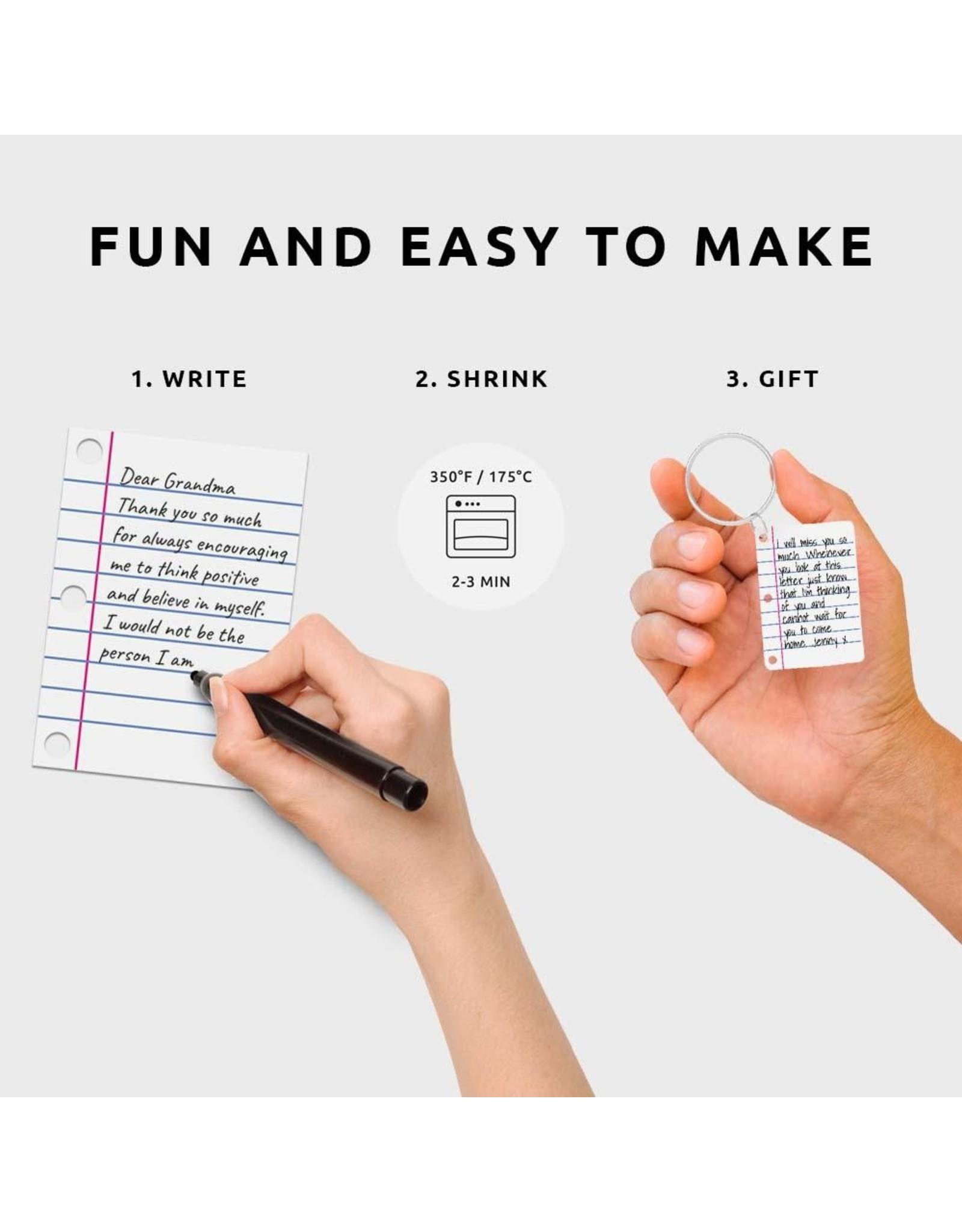 DIY keyring  of a letter
