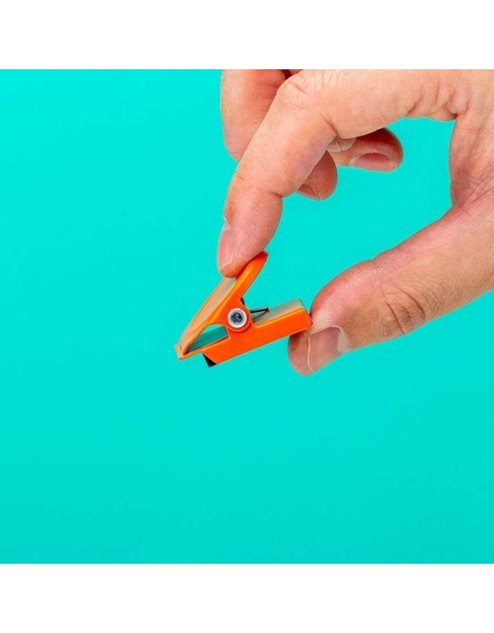 Kikkerland magnets shaped like clips