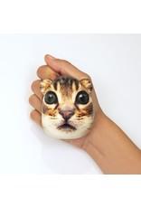 Kikkerland stress ball shaped like a cat