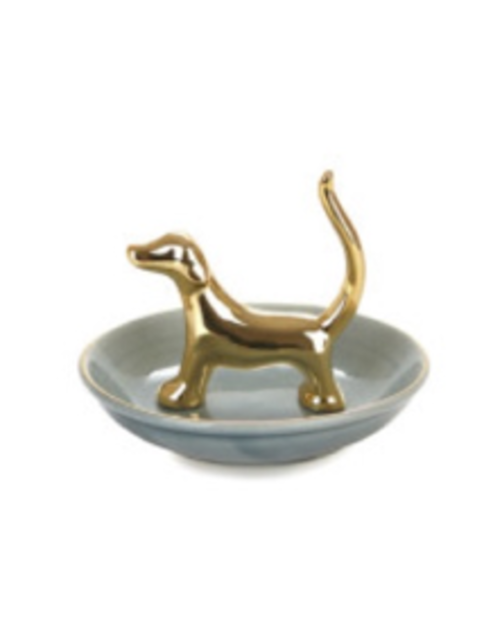 ring holder in the shape of a dog