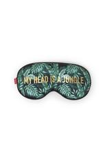 Legami sleep mask with jungle print