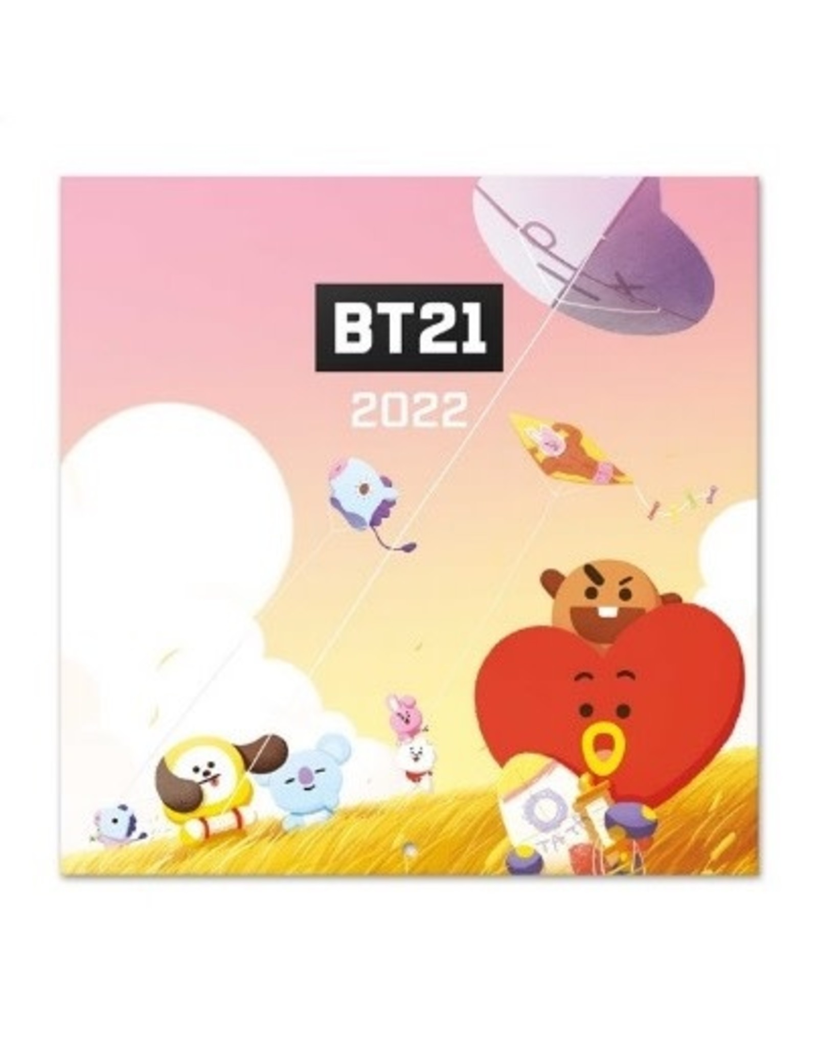 calendar 2022 with BT21 pictures