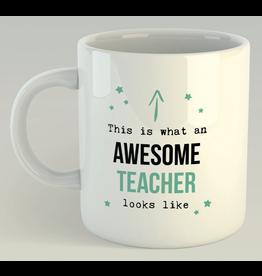Jelly Jazz mok - awesome teacher